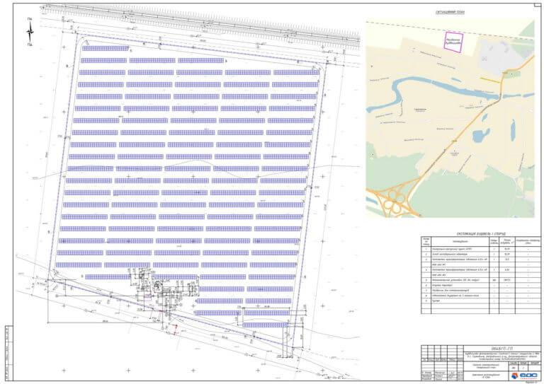 проект сонячної електростанції