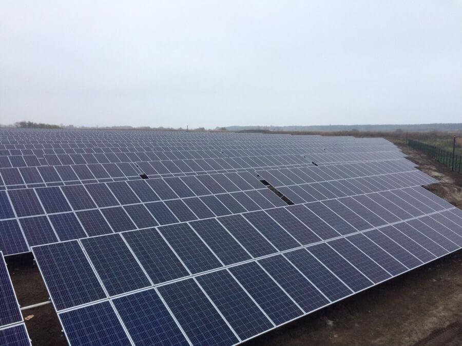 строительство промышленных сэс в украине, сэс Мишурин Рог 2 МВт