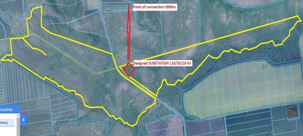 земля под солнечную электростанцию 100 МВт