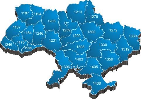 Інсоляційна карта України