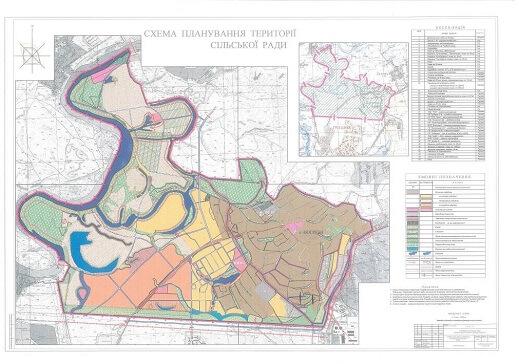 Зразок плана території селища