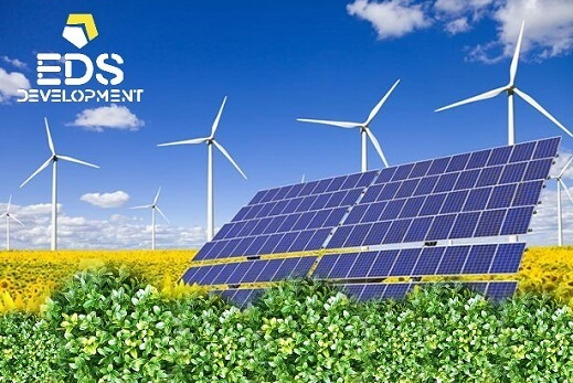 ветрянные или солнечные электростанции