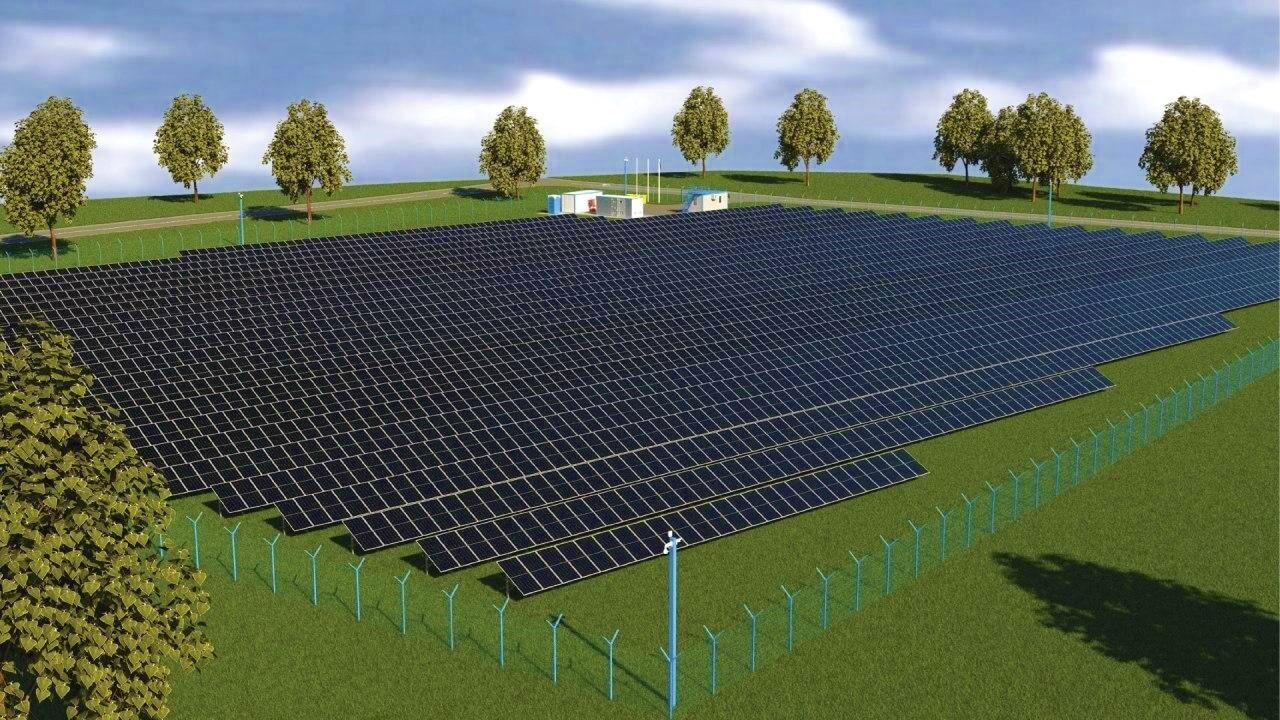 проект СЭС 1 МВт